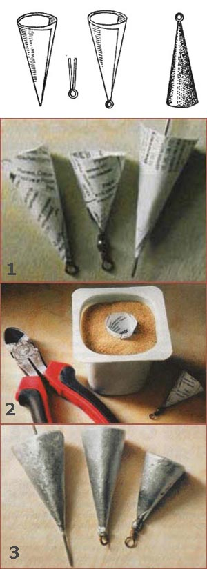 Как сделать грузило