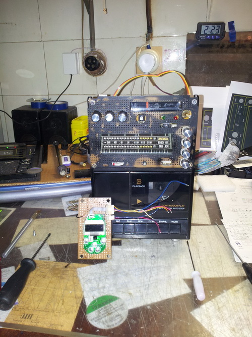 Самодельный кассетный магнитофон