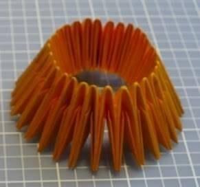 Модульное оригами: мастер-класс по созданию ананасов