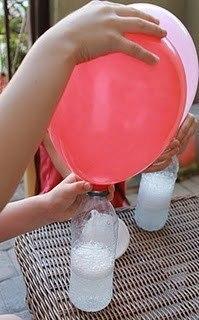 Как накачать шарик без гелия