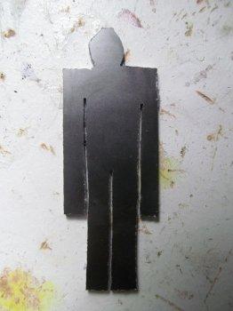Держатель для карандаша в виде человечка