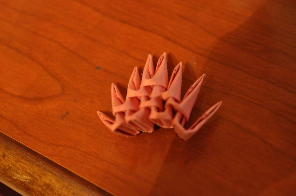 Модульное оригами: свинка