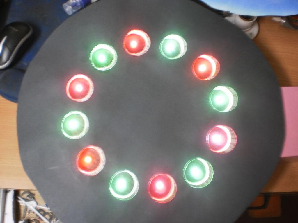 Как сделать часы из картона со светодиодной подсветкой?