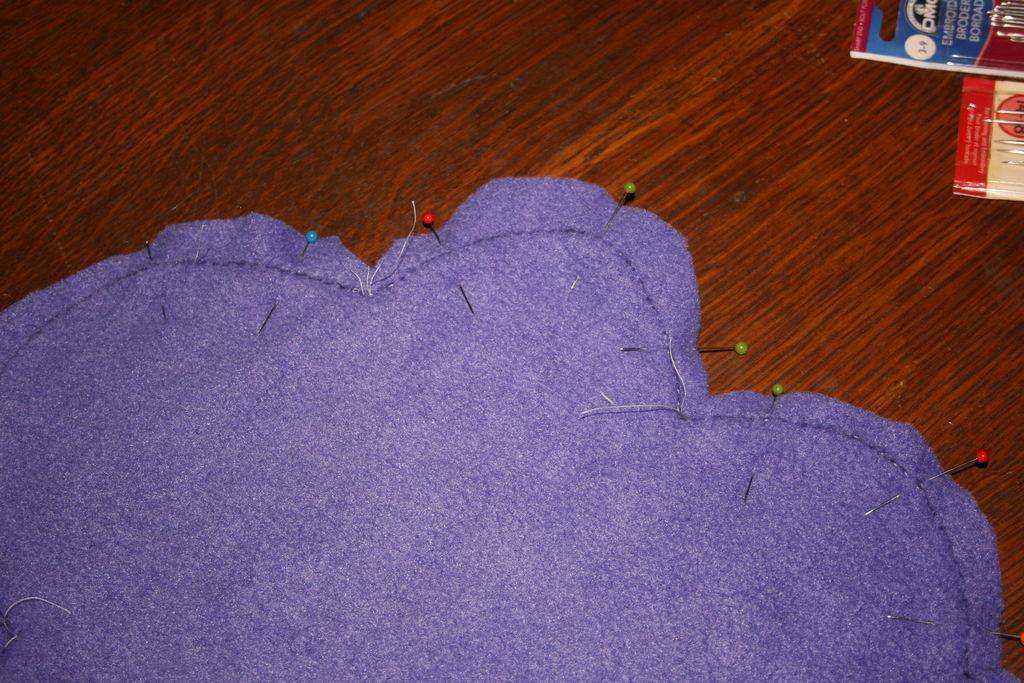 Звездная подушка своими руками