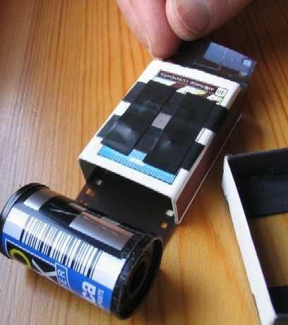 Как сделать самодельный фотоаппарат из спичечного коробка