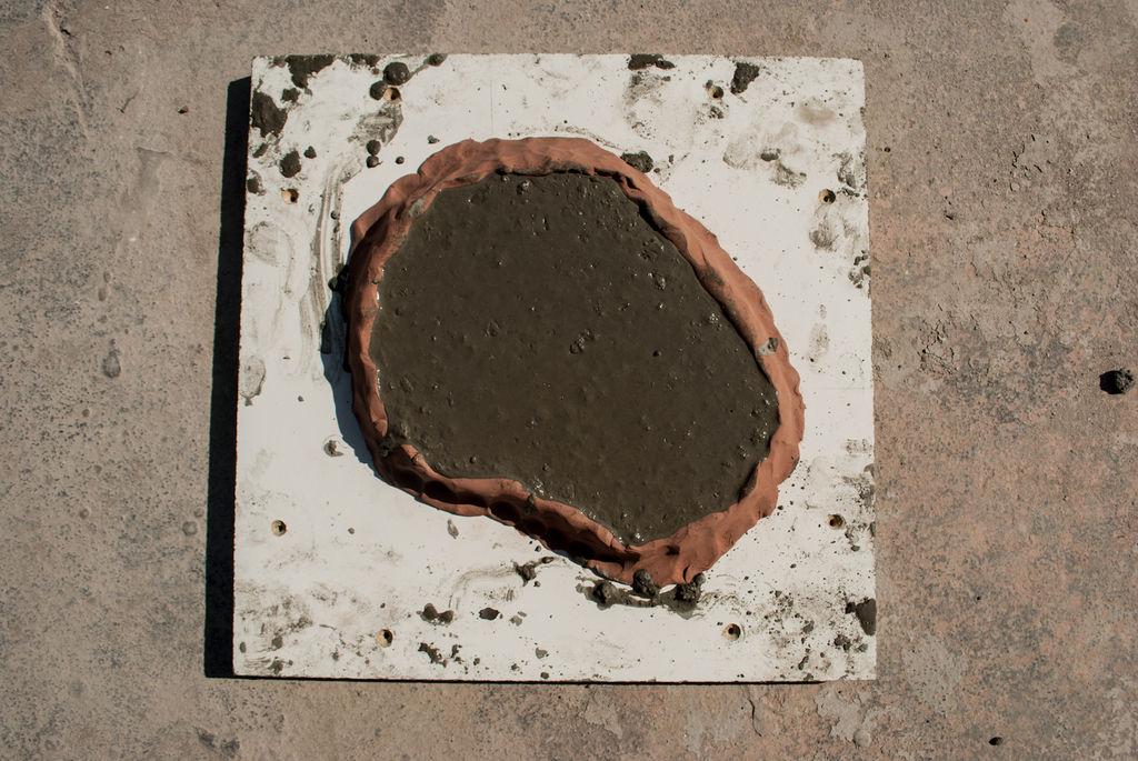 Как сделать отпечаток в бетонных изделиях?