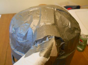 Как сделать железный шлем из картона