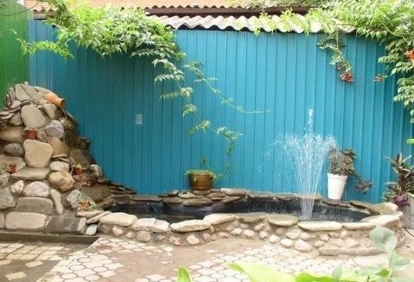 Как сделать пруд в своем дворе
