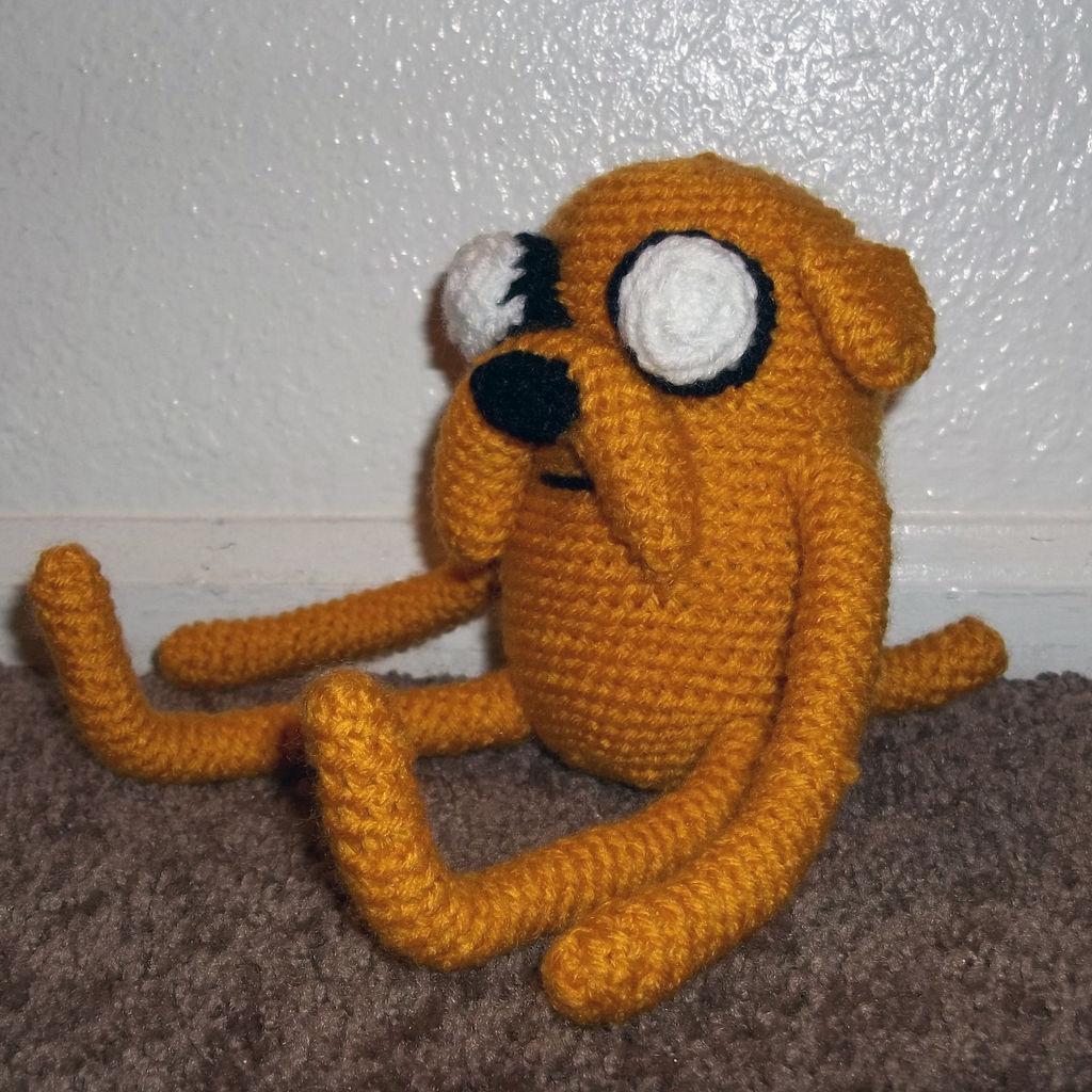 Вязаный пес Джейк