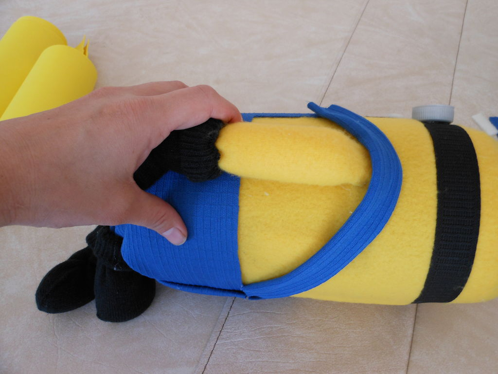 Забавный детский рюкзак «Миньон» своими руками