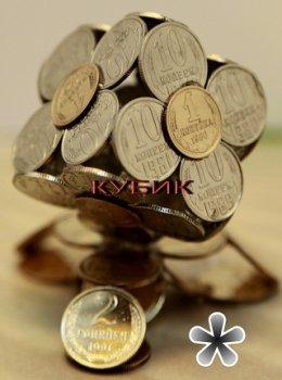 Красивые поделки из монет