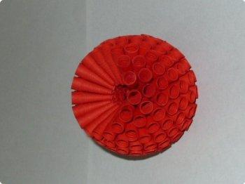 Объемные цветы в технике квиллинг