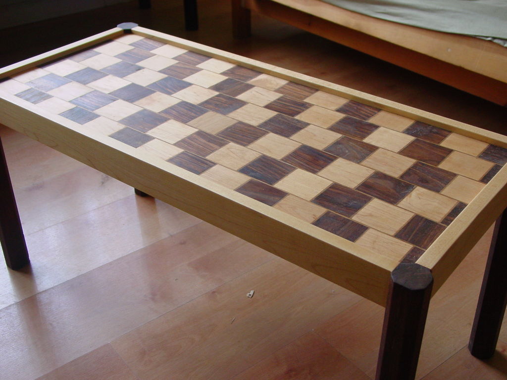 Создаем кофейный столик в иллюзорном стиле кафе Wall