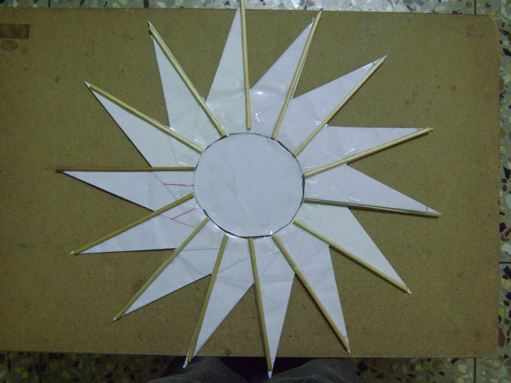 Создаем бумажный бумеранг