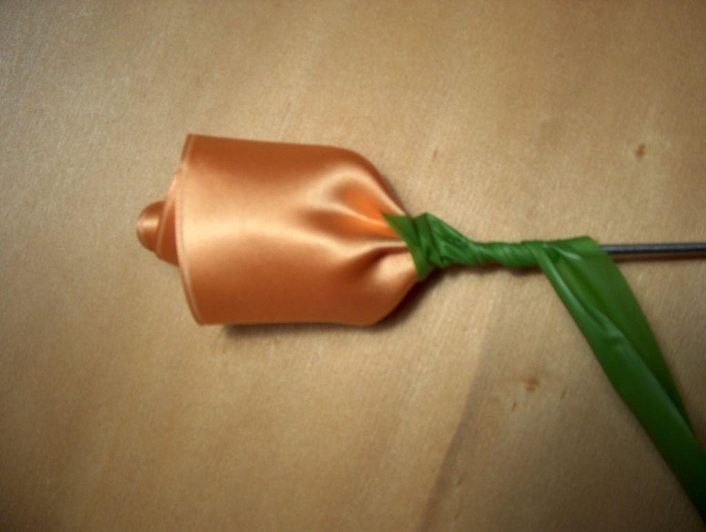 Как сделать розы из ленты