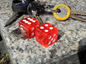 Как сделать брелок для USB-флешки