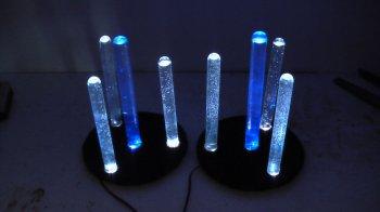 Создаем светодиодные лампы из пробирок