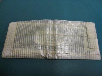 Качественный бумажник из скотча