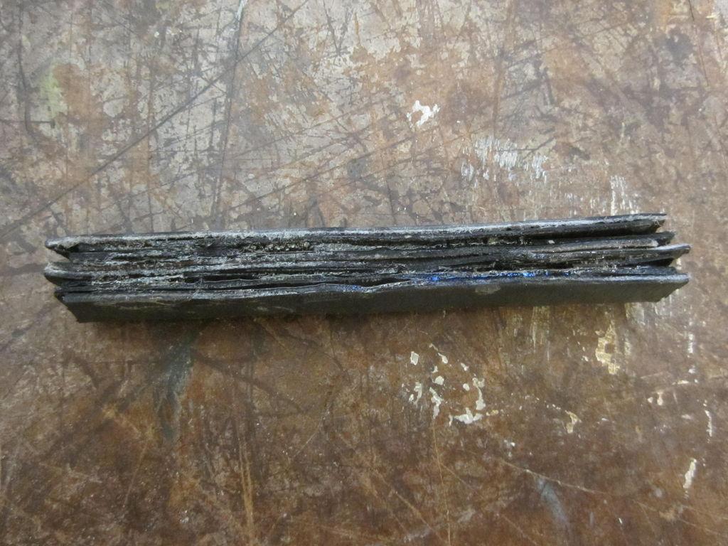 Шариковая ручка из ремня
