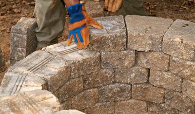 Каменный мангал своими руками