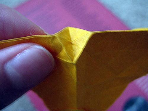 Создаем розу оригами