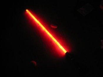 Световой меч из Звездных Войн