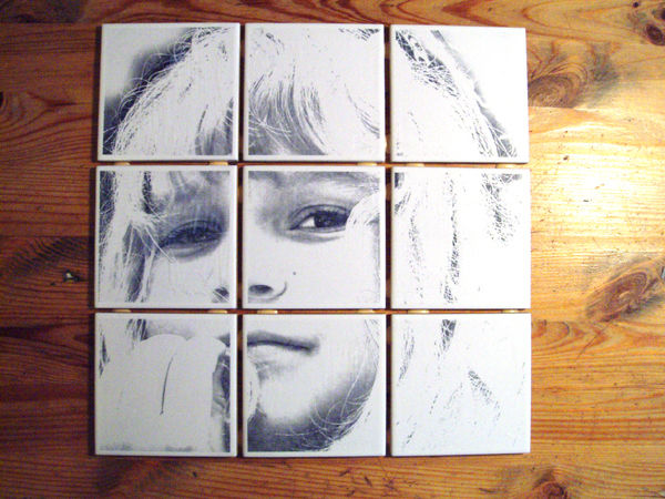Картина из плиток своими руками