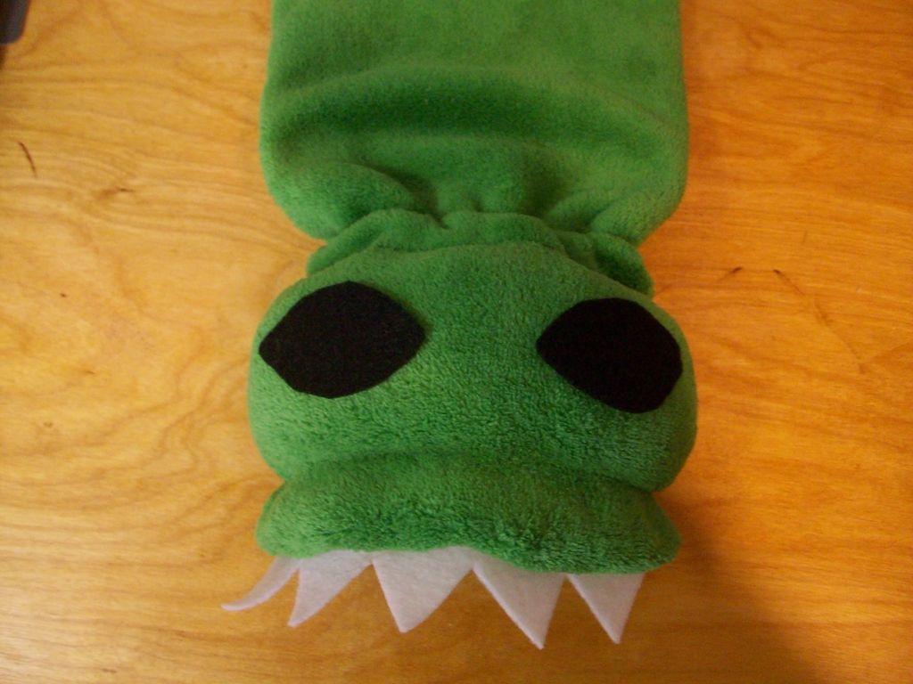 Гамаши-пришельцы своими руками