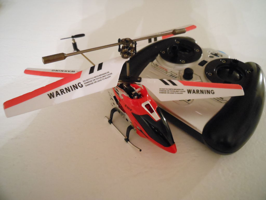 Ускоряем радиоуправляемый вертолет