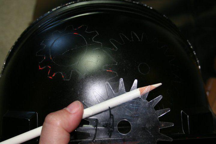 Каска в стиле стимпанк своими руками