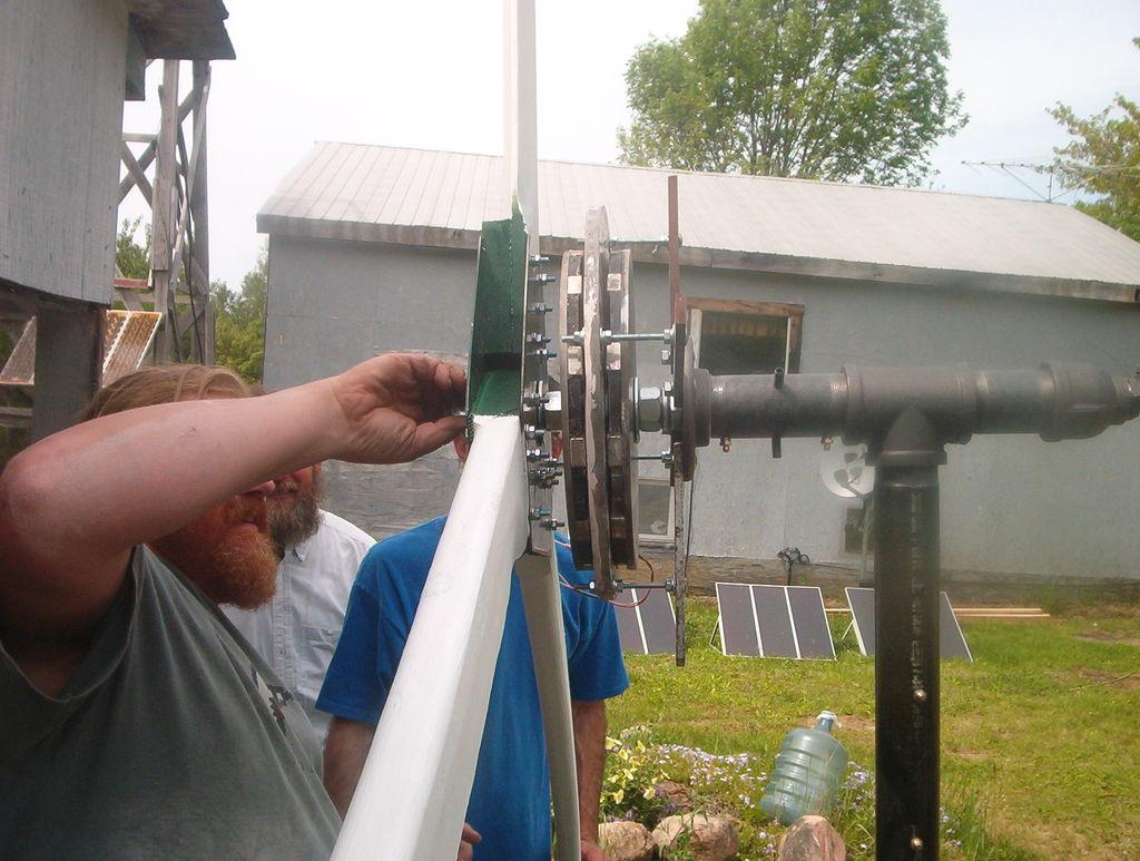 Ветровая турбина своими руками