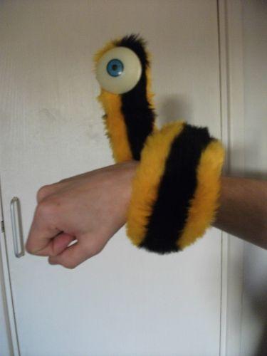 Мохнатый червячок своими руками