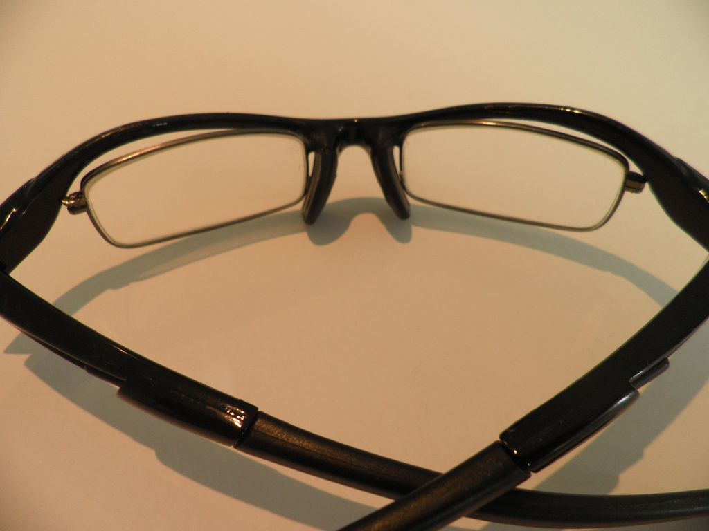 Дешевые спортивные очки своими руками