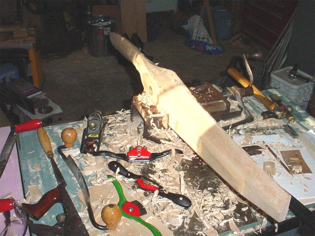 Пропеллер из дерева своими руками