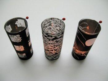 Светящиеся чайные стаканы