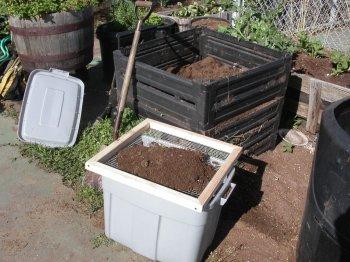 Решето для компоста своими руками