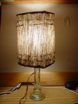 Простая лампа своими руками