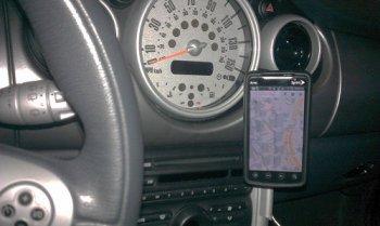 Стойка для телефона в авто