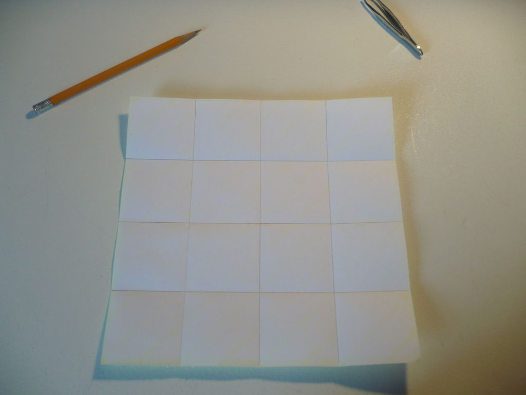 Оригами - Голубая роза