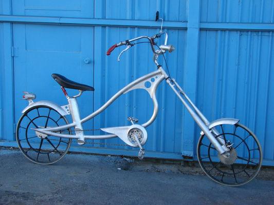 Велосипед чоппер из подручных материалов
