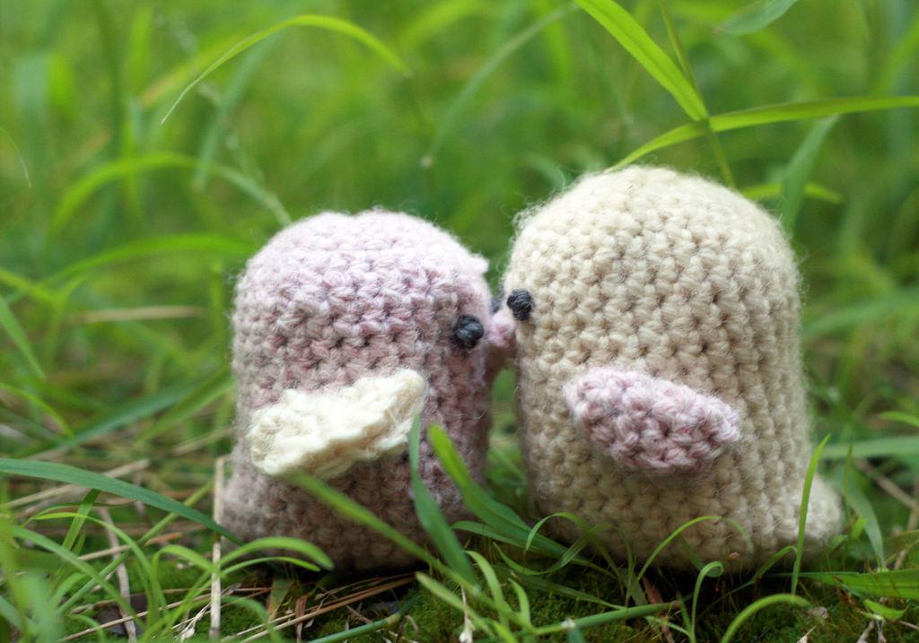 Милые вязаные птички своими руками