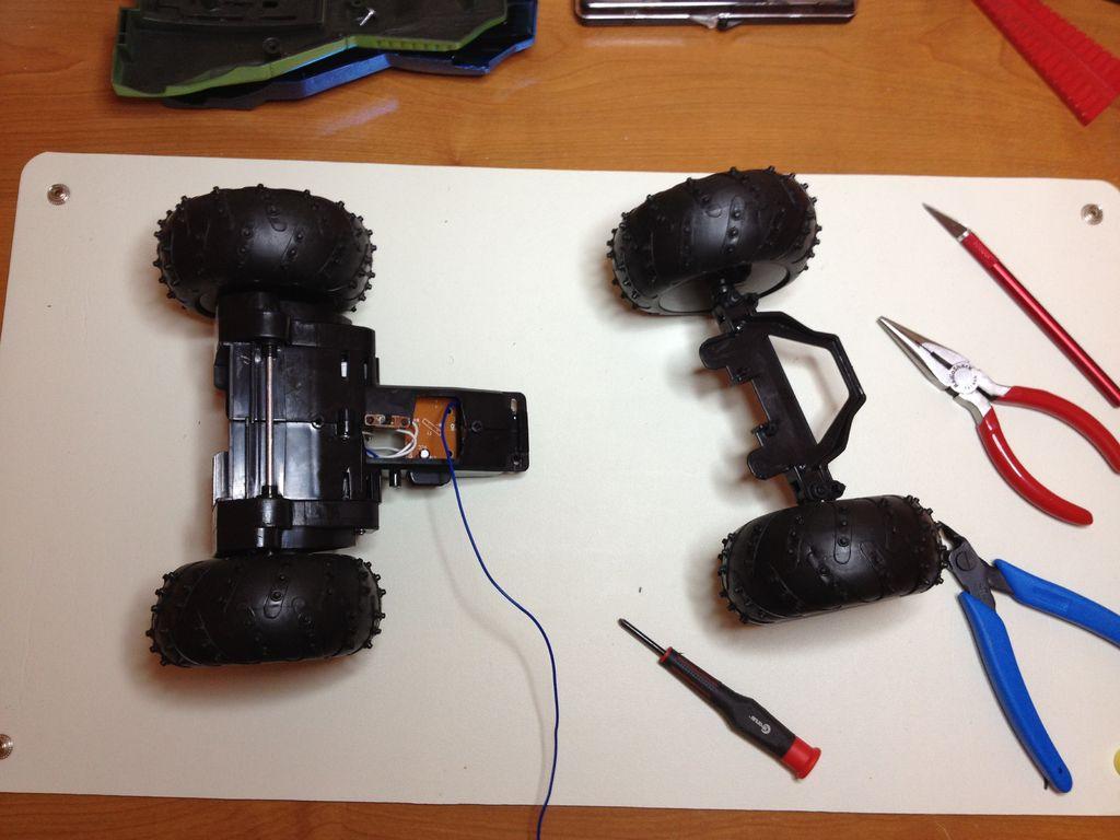 4-х колесный робот своими руками