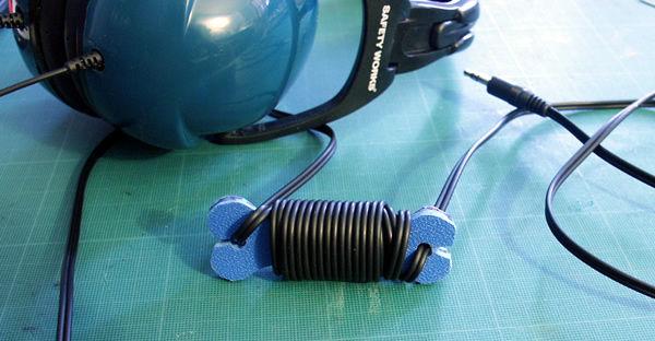 Косточка для обмотки кабеля