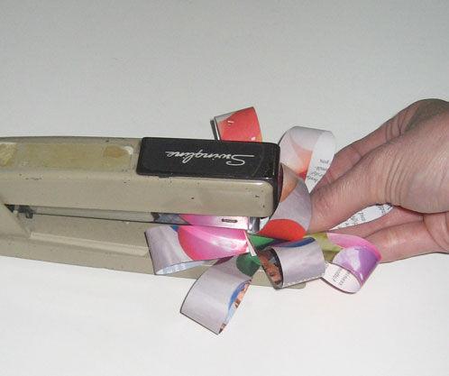 Красивые банты из бумаги