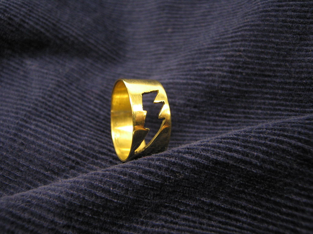 Красивые кольца своими руками
