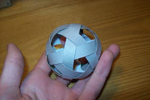 Бумажные шарики своими руками