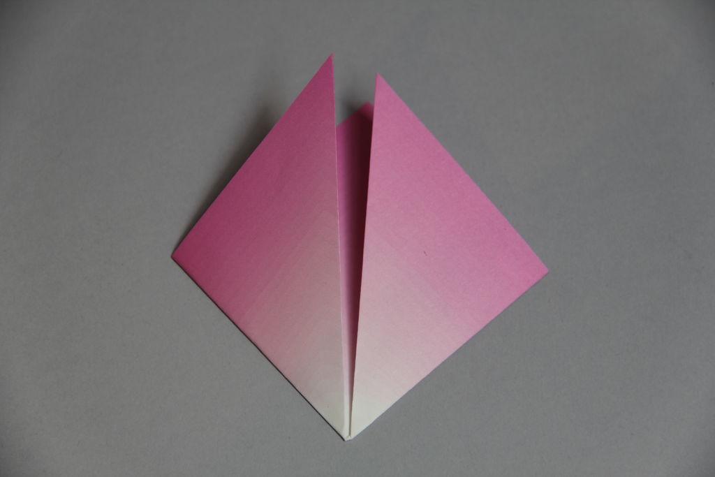 Цветочный букет оригами