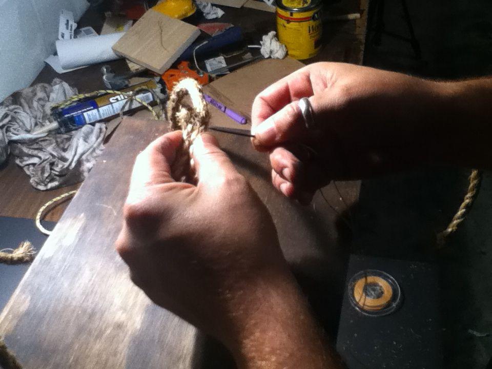 Подвесные полки своими руками
