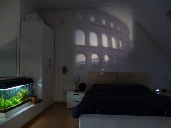 Проектор с фото слайдером