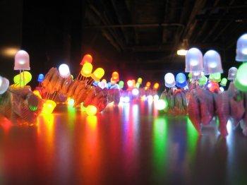 Светодиодные гирлянды своими руками